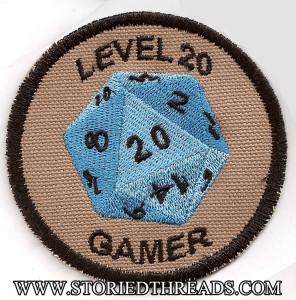 WDWG2-D20 level 20 Gamer