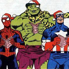 Comic Caroling
