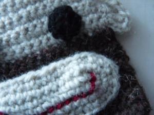 January 2015 TC - Quinny's Crochet Sock Money Bag