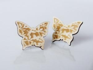 January 2015 TC - UUJ - Butterfly Earrings