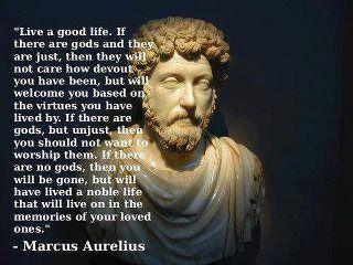 Marcus Aurelius on Life and Death